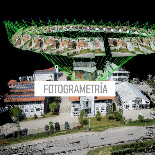 Capacitacion en fotogrametria con Drones