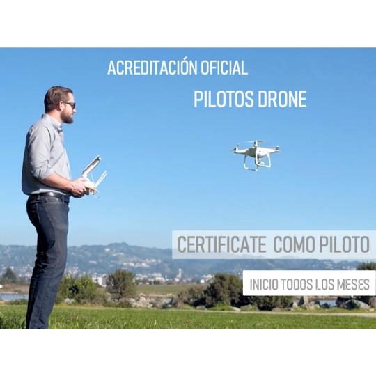 Certificación Piloto Drones MTC